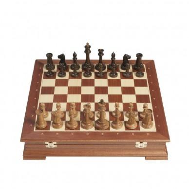Шахматы сенеж махагон