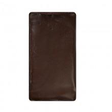Чехол для нард кожаный темно-коричневый 60х30х4 см