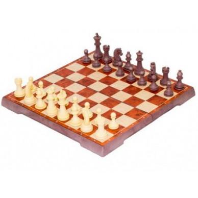 Шахматы + Шашки (Китай, пластик, магнит, 30х15х4см)