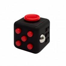 Fidget Cube черный с красным