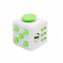 Fidget Cube белый с зеленым