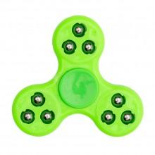Спиннер с шариками зеленый