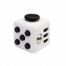 Fidget Cube белый с черным