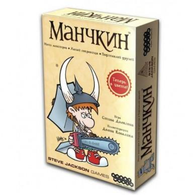 МАНЧКИН (ЦВЕТНАЯ ВЕРСИЯ, 2-Е РУС. ИЗД.)